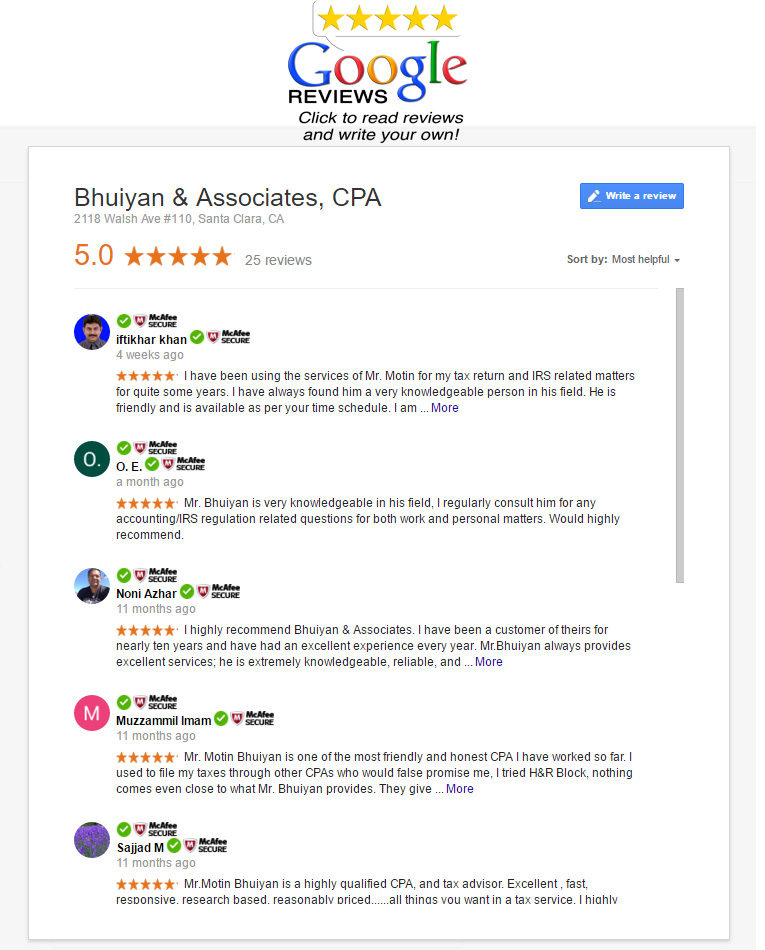 google reviews cpa